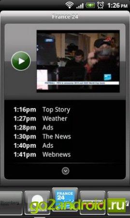 Просмотр ТВ онлайн на Андроид