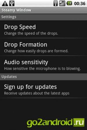 Забава Steamy Window на Андроид скачать