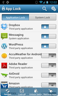 APP Lock приложение на андроид