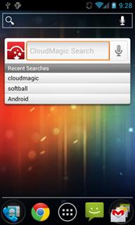 CloudMagic приложение для поиска на Android