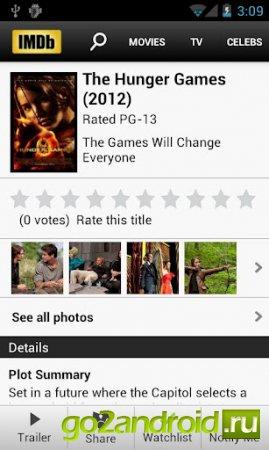 IMDb Movies & TV для Андроид