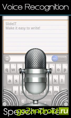Клавиатура SlideIT для Андроид
