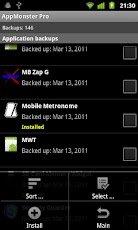 AppMonster - диспетчер приложений для Android