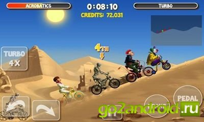 Игра Crazy Bikers 2 на Андроид