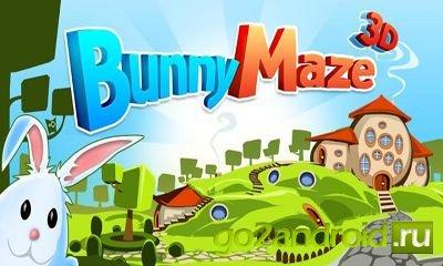 """Приложение """"Bunny Maze 3D"""" для Android"""