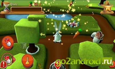 "Игра \""Bunny Maze 3D\"" для Android"
