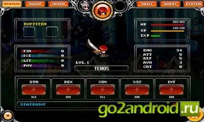 """Игра """"ADVENA"""" для Android"""