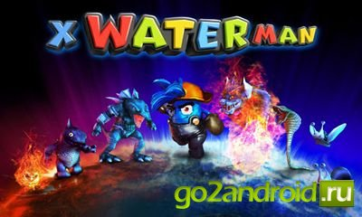 "Игра ""3D X WaterMan"" для Android"