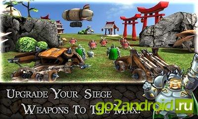 """Игра \""""Siegecraft\"""" для Android"""