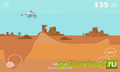 """Игра """"Pumped BMX"""" для Android"""