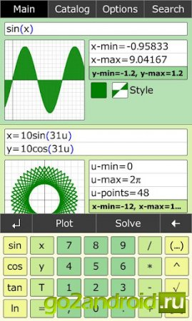"""Приложение """"MathStudio"""" для Android"""