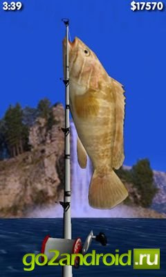 "Игра ""Big Sport Fishing 3D"" для Android"