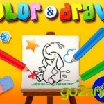 Color & Draw for kids HD — приложение для рисования для детей на android