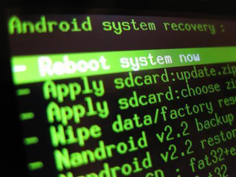 режим Recavery android