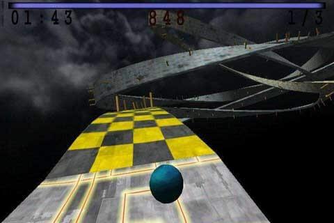 мобильная игра Skyball 3D