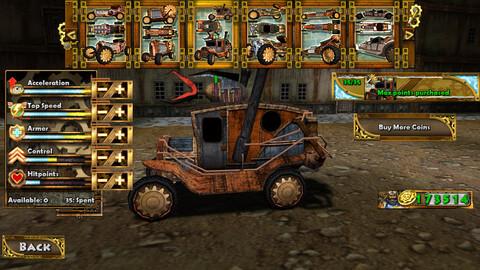 Steampunk Racind 3D на андроид