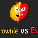 Интересная игра Brownie Vs Evil