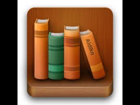 программа для чтения книг Aldiko Book Reader