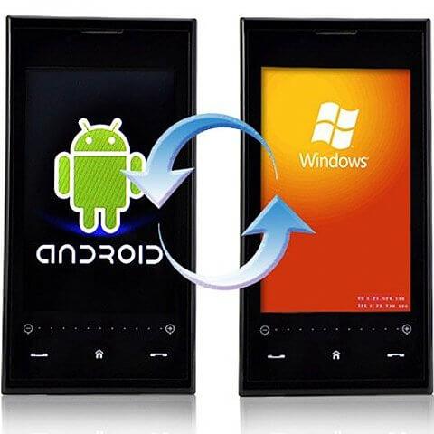 установка windows на android