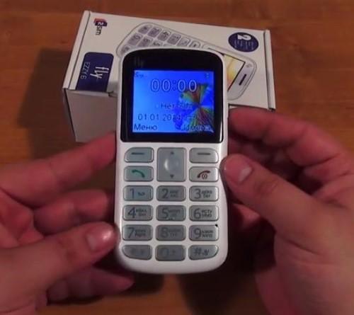 телефон с большими кнопками Fly Ezzy 6