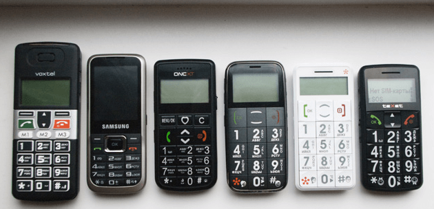 телефоны для престарелых