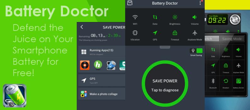 приложение увеличивающее заряд Battery Doctor